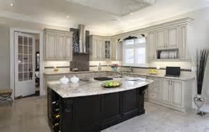 delightful 2 Tone Kitchen Cabinets #1: Traditional_Kitchen_2tone_Medium.jpg