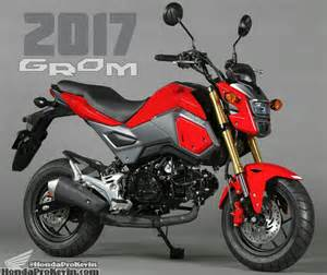 Mini Honda Motorcycle 2017 Honda Grom 125 Pictures Motorcycle News Updates