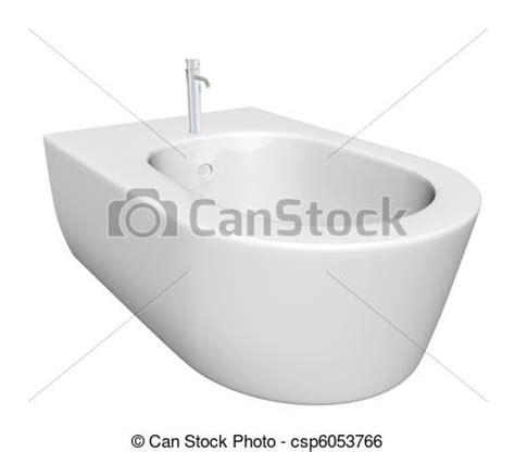 bidet clipart stock illustration of bidet design for bathrooms 3d