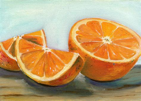 orange painting orange by sarah lynch