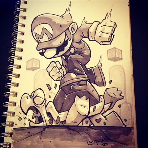 sketchbook inktober inktober day 30 stomp by dereklaufman sketchbook