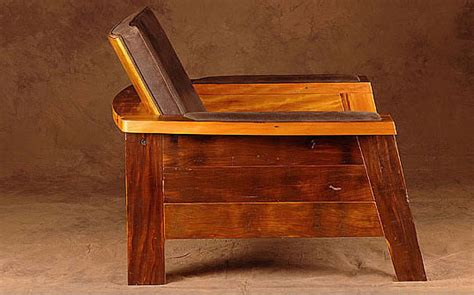 restored wood furniture at the galleria