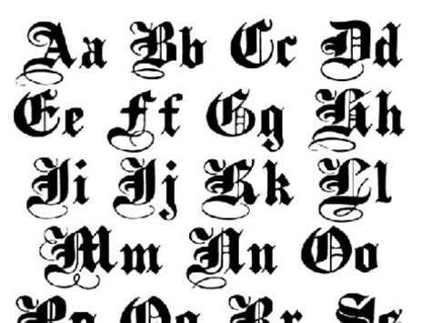 best 25 old english font collection of 25 lettering alphabets