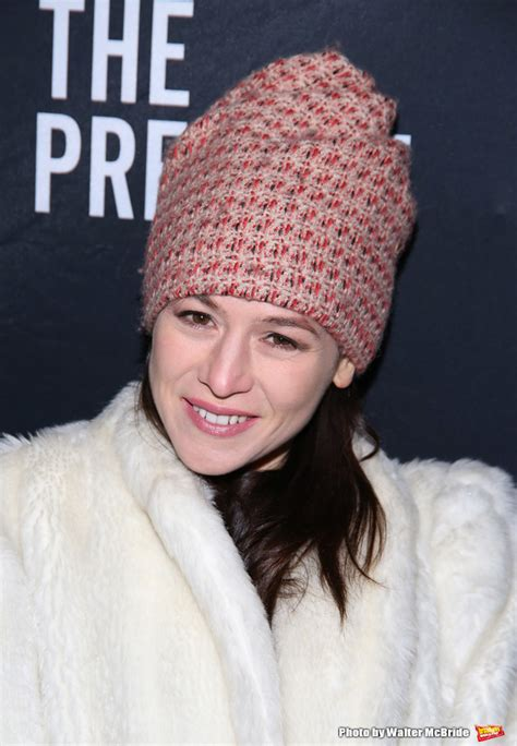 yael stone grease photo coverage on the opening night red carpet for the