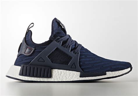Sepatu Adidas Nmd Original adidas nmd xr1 blue striped primeknit sneakernews