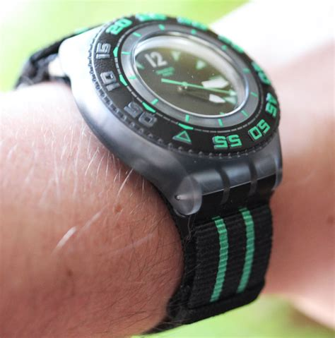 swatch dive swatch scuba libre dive review ablogtowatch
