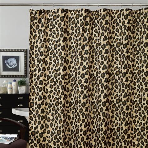 cheetah shower curtain 21 best images about bathroom on pinterest bath towel