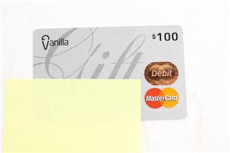 Vanilla Master Gift Card - master card vanilla gift card 100 00 property room