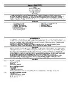 Line Service Technician Sle Resume by Second Line Service Technician Resume Exle Diebold Flagstaff Arizona