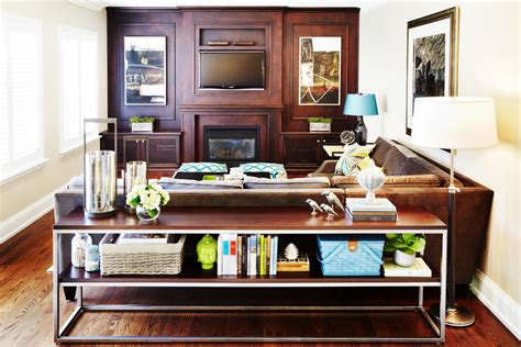 Staggering weathered wood console table decorating ideas images in