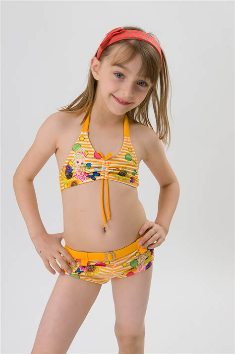 swimwear two piece for kid new 2015 brand summer style 6 12y girls swimwear two piece