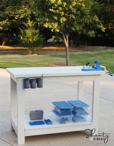 kreg jig bench kreg jig workbenches and work benches on pinterest