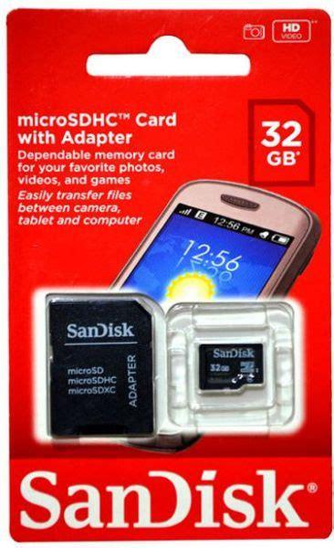 Sandisk Sdsdqm 032g Bq35 Microsdhc Memory Cards Class 4 32gb Murah souq sandisk 32gb microsdhc c4 memory card sdsdqm 032g