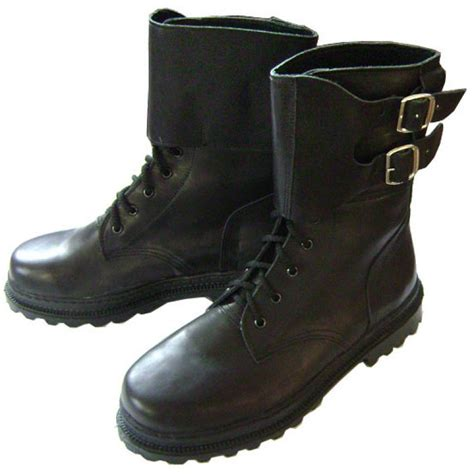 russian special forces spetsnaz omon winter leather boots