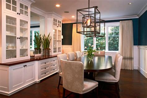 built in dining room buffet ideas dining room craftsman with wall sconces board and batt