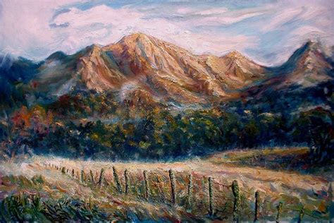 Landscape Artists New Zealand Arthur S Pass Road South Island New Zealand
