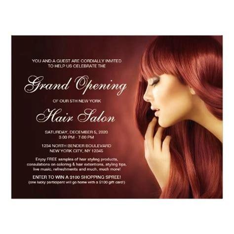hair salon brochure templates hair salon grand opening flyer templates grand opening