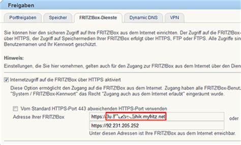 myfritz domainname