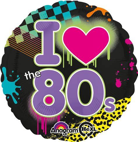 Imagenes Retro Años 80 | comprar globo a 241 os 80 online env 237 o en 24h fiestafacil