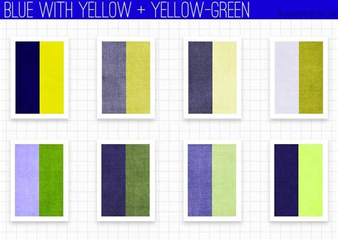 yellow colour combination 17 best images about art color theory on pinterest