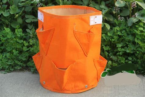 Felt Planter Bags by Grow Bags Strawberry Planter Bag Felt Planting Bag Large