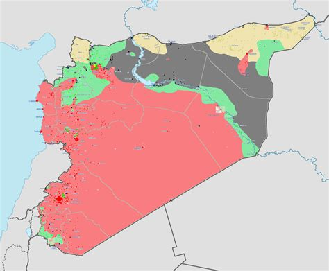 syrian civil war map template best photos of syrian civil war detailed map template