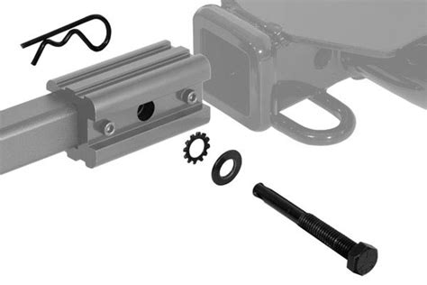 Bike Rack Hitch Adapter by Curt Extendable Hitch Mounted Bike Rack Free Shipping On