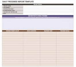 Site Progress Report Template by Construction Daily Reports Templates Or Software Smartsheet