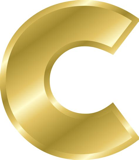 c com the letter c clipart color clipground