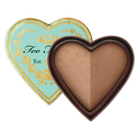 sweetheart faced sweethearts luminous glow bronzer faced mecca