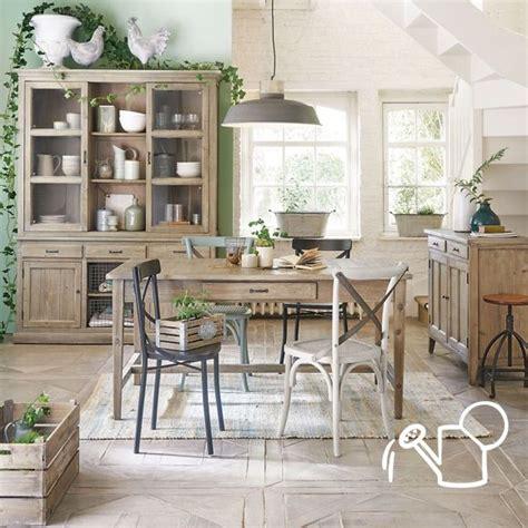 muebles  decoracion de interior estilo casa de campo
