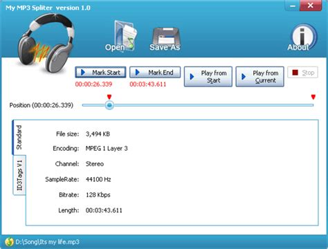 my free mp3 my mp3 splitter download