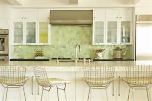 metal bar stools cottage kitchen eric olsen design cool kitchen backsplashes shelterness