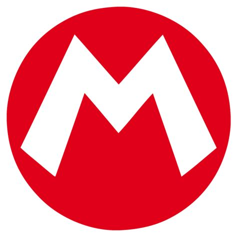 Mario Stickers For Walls mario m super decal vinyl sticker from mario bros