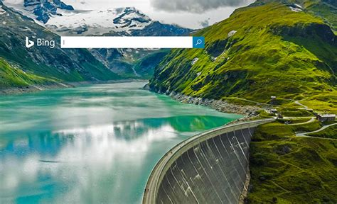 bing home page archive part 3 google green logo bing mooserboden reservoir on world