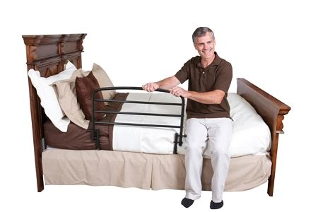 30 inch safety bed rail by standers helps prevent bed side falls
