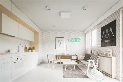 Salle De Bain Style Scandinave 1645 by Am 233 Nager Un Appartement De 60m2 Avec Un Style Scandinave