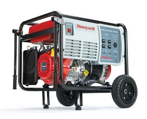 generator mufflers honeywell hw5500 6 875 watt 11 hp