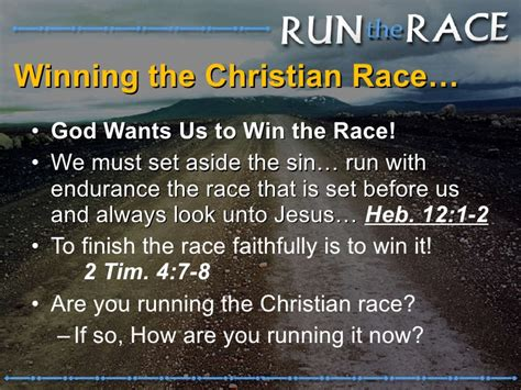 Win It With Lifestyle by Run The Race To Win
