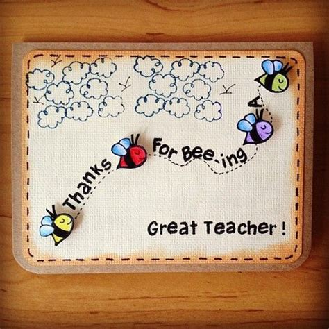 How To Make Handmade Greeting Cards For Teachers Day - 17 best ideas about handmade teachers day cards on