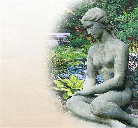 gartenshop bestellen stilvolle skulpturen garten sandstein stein
