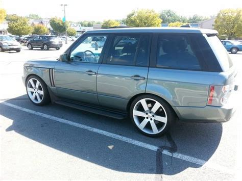 range rover bmw engine purchase used 2005 land rover range rover hse