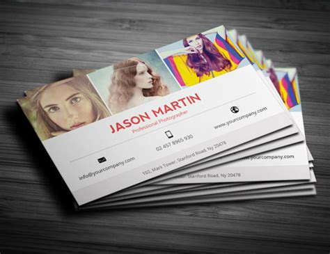 card templates for photographers 2016 photography business card templates design graphic