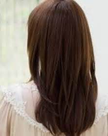 hairstyles back view layered haircuts back view