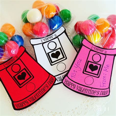 gumball machine valentines living with threemoonbabies gumball machine valentines