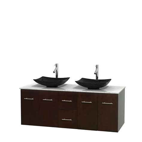 60 in bathroom vanity wyndham collection wcvw00960descmgs4mxx centra 60 inch