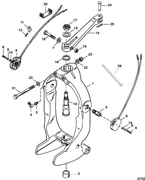 alpha one parts diagram mercruiser alpha one ii 1996 1997 gimbal ring