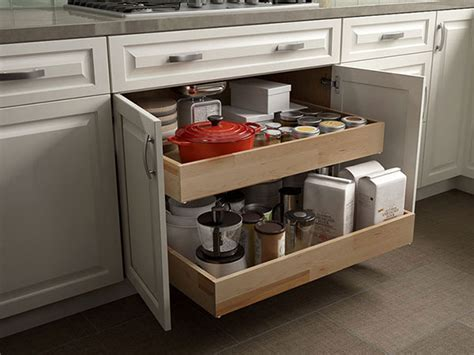 Rollout Drawers by Features Hton Bay Designer Series Designer Kitchen