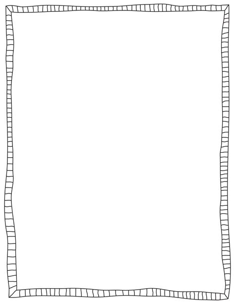 free doodle borders doodle border clipart clipartsgram