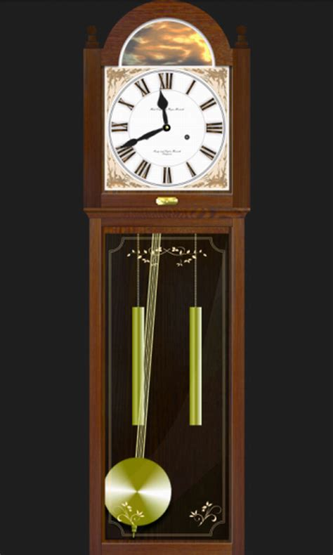 grandfather clock pendulum stops swinging pendulum clock android apps on google play